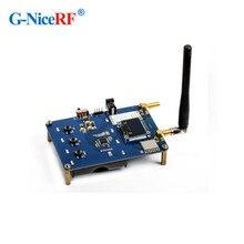 2 pces lora1280 sx1280 2.4 ghz módulo rf placa de demonstração