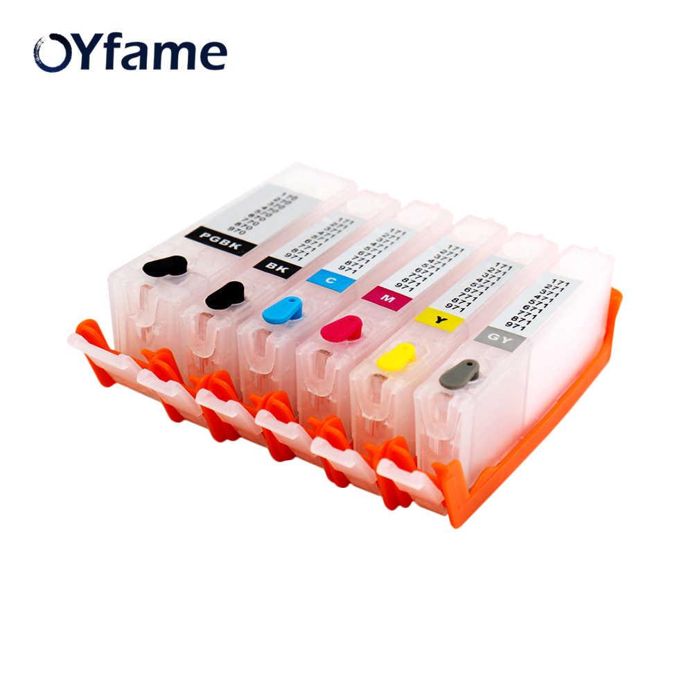 Картридж OYfame PGI270 6 шт. PGI 270 CLI 271 многоразовые картриджи для canon MG7720 TS8020 TS9020 TS6020 с