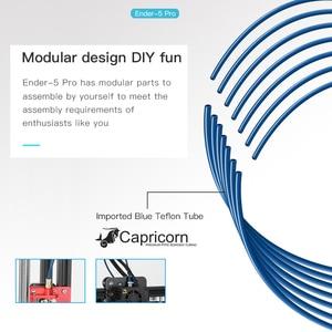 Image 5 - Creality Ender 5/Ender 5 פרו 3D מדפסת DIY ערכת 220*220*300mm לבנות נפח עם שדרוג שקט האם PTFE צינורות Extruder