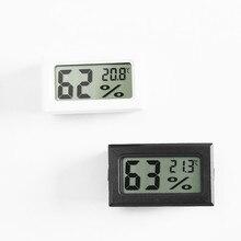 Práctica gran oferta Mini LCD Digital de Interior de temperatura conveniente Sensor de higrómetro termómetro con medidor de humedad higrómetro medidor