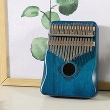 17 клавиш калимба большой палец пианино высокое качество дерево