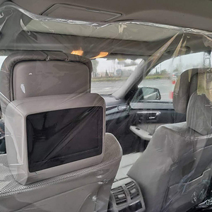 1.4x2m Car Interior Isolation Film Transparent Insulation Curtain Reusable dust-proof Anti-Droplet Protective Film for Car Taxi(China)