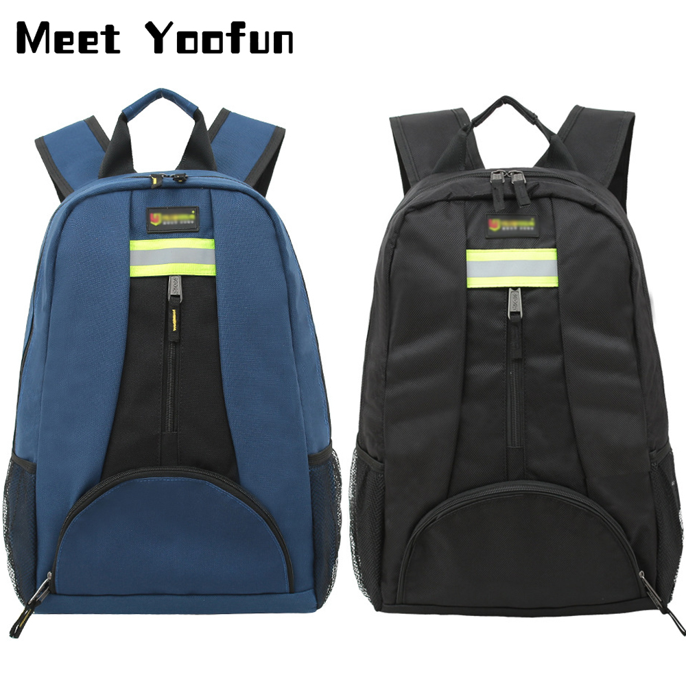 Multitul Tool Backpack Double Shoulder Toolkit Waterproof Wear Resistant Oxford Cloth Electrician Repair Backpack For The Tool