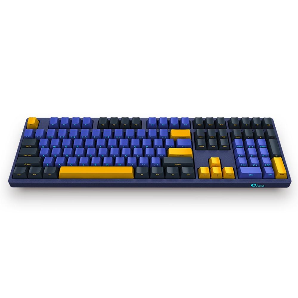 AKKO 3108SP механическая клавиатура 108 ключ USB Проводная Cherry MX Переключатель PBT клавиатура Механическая игровая клавиатура для ПК ноутбука планш