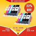 Сменные чернильные картриджи PGI 520 CLI 521 для Canon PIXMA iP3600 4600 4700 MP 540 550 560 620 630 640 980 MX860