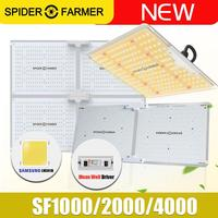 Sf 1000 w 2000 w 4000 w espectro completo led crescer luz aranha agricultor samsung lm301b meanwell motorista placa quântica para planta crescer tenda Luzes LED crescimento plantas     -