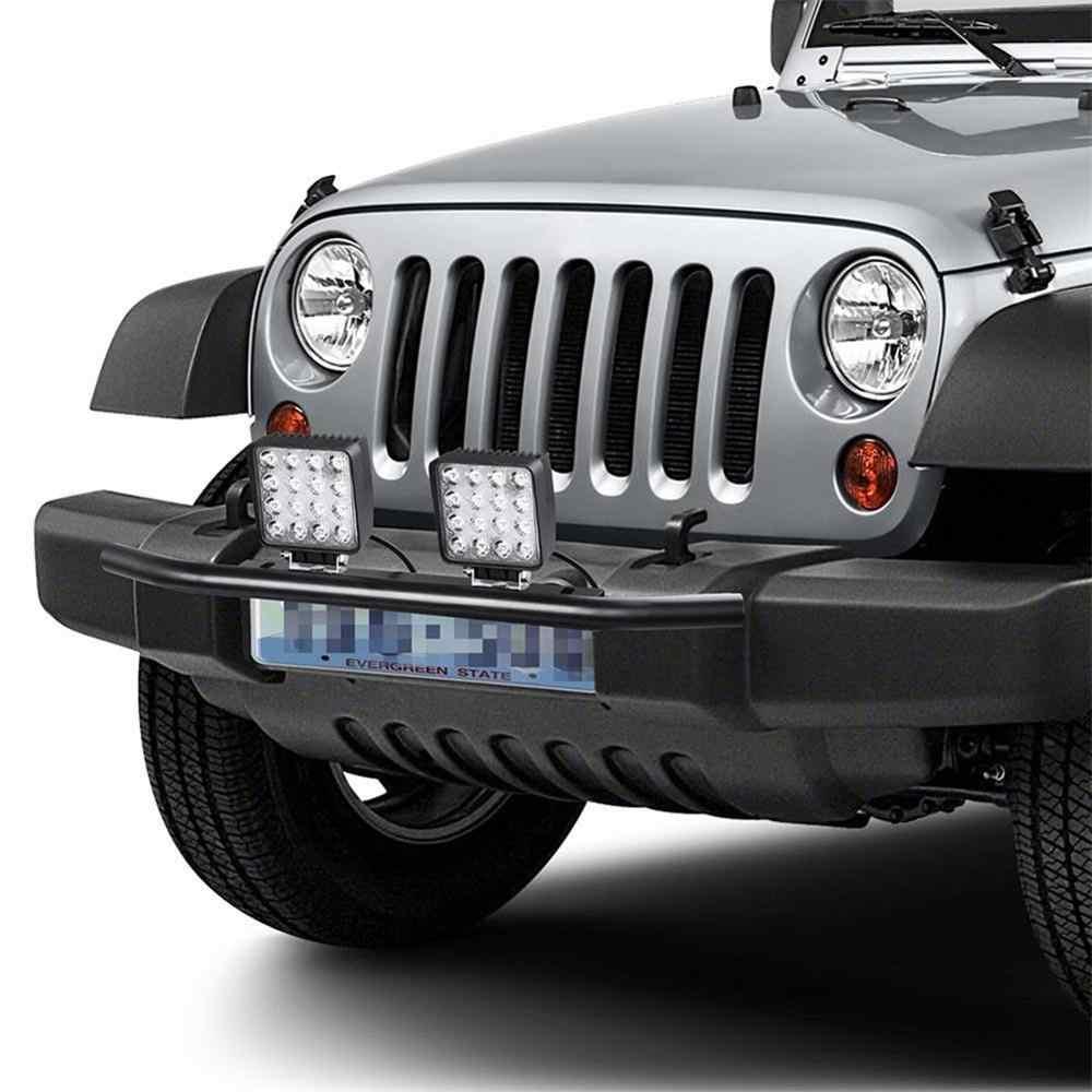 23 pollici Car Paraurti Anteriore Targa Staffa di Montaggio In Alluminio Bull Bar Stile Supporto Per La Guida di Luce Bar Auto Jeep camion SUV