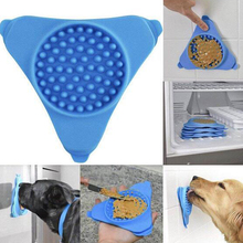 Dog Food Mat Licking Pad Dog Bath Buddy Slow Feeders Cat Treat Mat Pet Dispensing Feeding Mat Pet Bathing Grooming Dog Training ботинки buddy dog