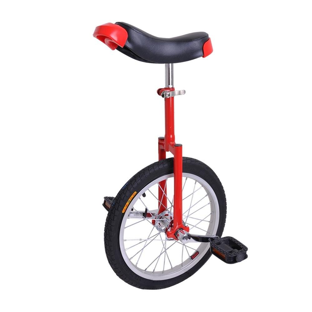 Novo 18 Polegada bicicleta unicycle scooter de bicicleta de circo juventude adulto equilíbrio esportes roda única roda alumínio roda