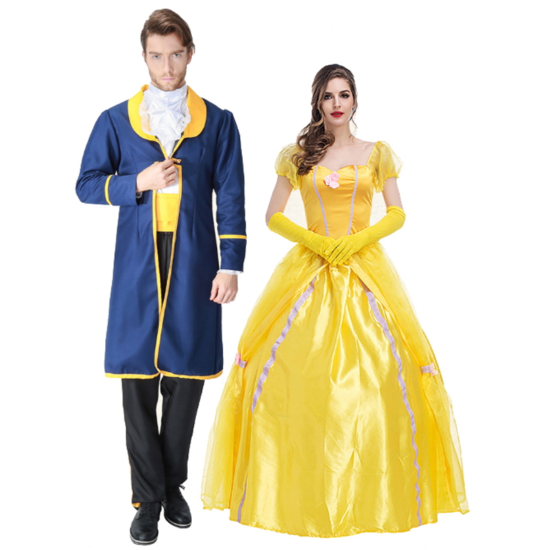 Couple Clothes Beauty And The Beast Costume