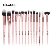 MAANGE Makeup Brushes Pro Pink Brush Set Powder EyeShadow Blending Eyeliner Eyelash Eyebrow Make up Beauty Cosmestic Brushes