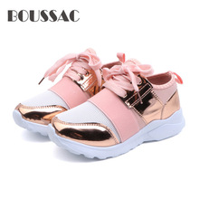 BOUSSAC Sneakers Shoes Girls Fashion Ultra-light Boys sport shoes for boys Leisure Childrens sneakers