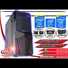 Ordenador Sobremesa Pc Gamer Intel Core I3 4ºGen 8GB DDR3 120GB 1TB Gráfico HD 4400 Hasta 4GB