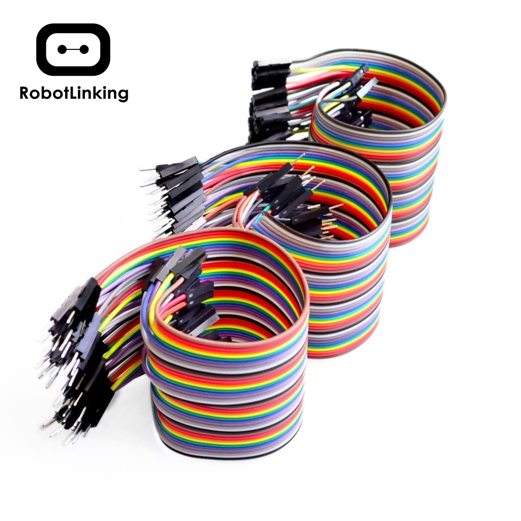 Dupont Line 120Pcs/3*40pin 10cm/20cm/30cm Male To Male, Male To Female, Female To Female Jumper Wire Dupont Cable For Arduino