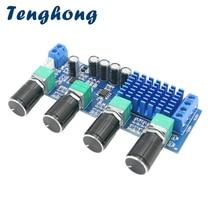 Tenghong TPA3116D2 moc dźwięku Tone Op Amp 80W * 2 podwójny kanał Stereo wzmacniacz cyfrowy pokładzie DC12 24V głośnik dźwięk Amplificador