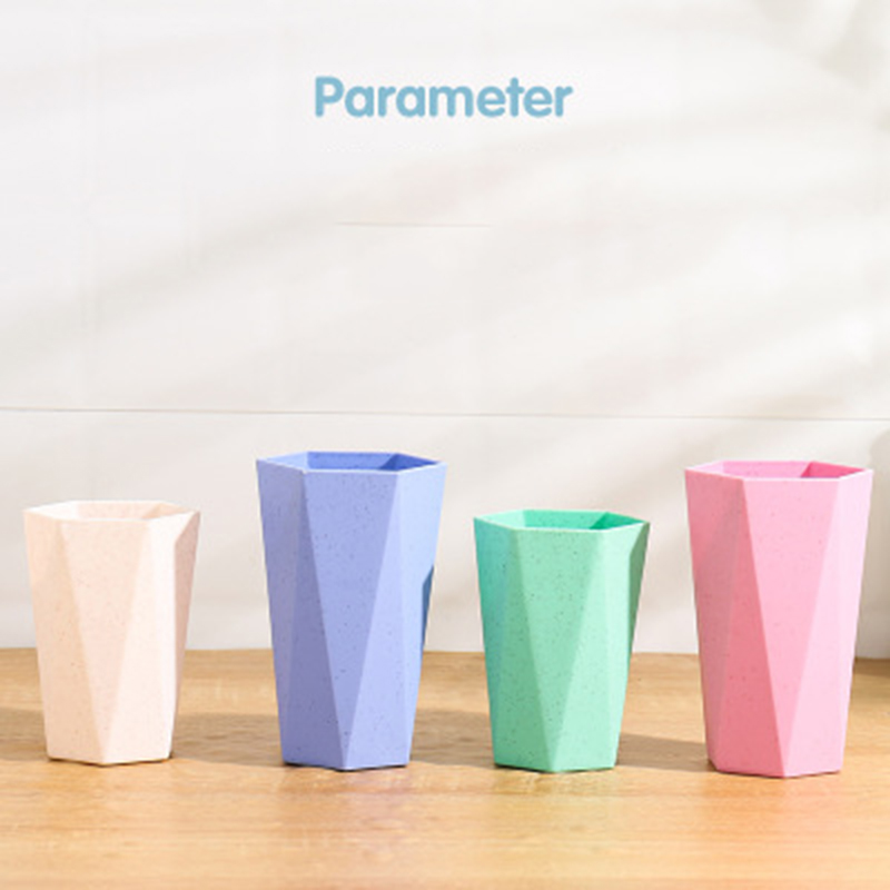 Eco-friendly Creative Toothbrush Cup Brushing Mouth Household Couple Rinsing Cup Wash Tooth Mug Bathroom Sets