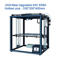 2020 Newest design Tronxy X5SA with touch screen Auto level DIY 3d Printer kit Full metal Large printing size