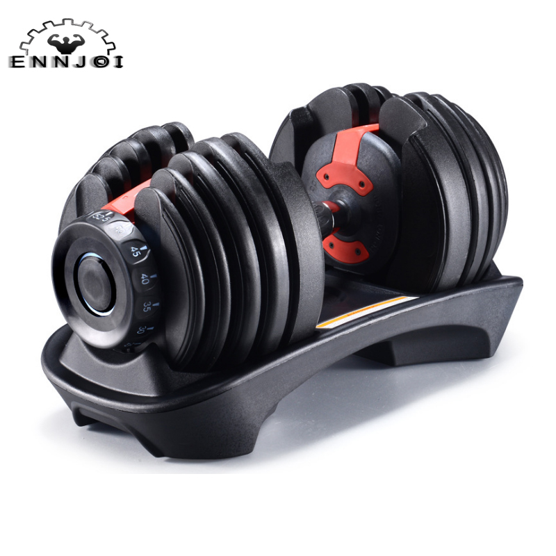 24 KG Adjustable Dumbbells Fitness For Home And Gym Bodyuilding And Exercises Rotate Freely To Increase Or Decrease Weight