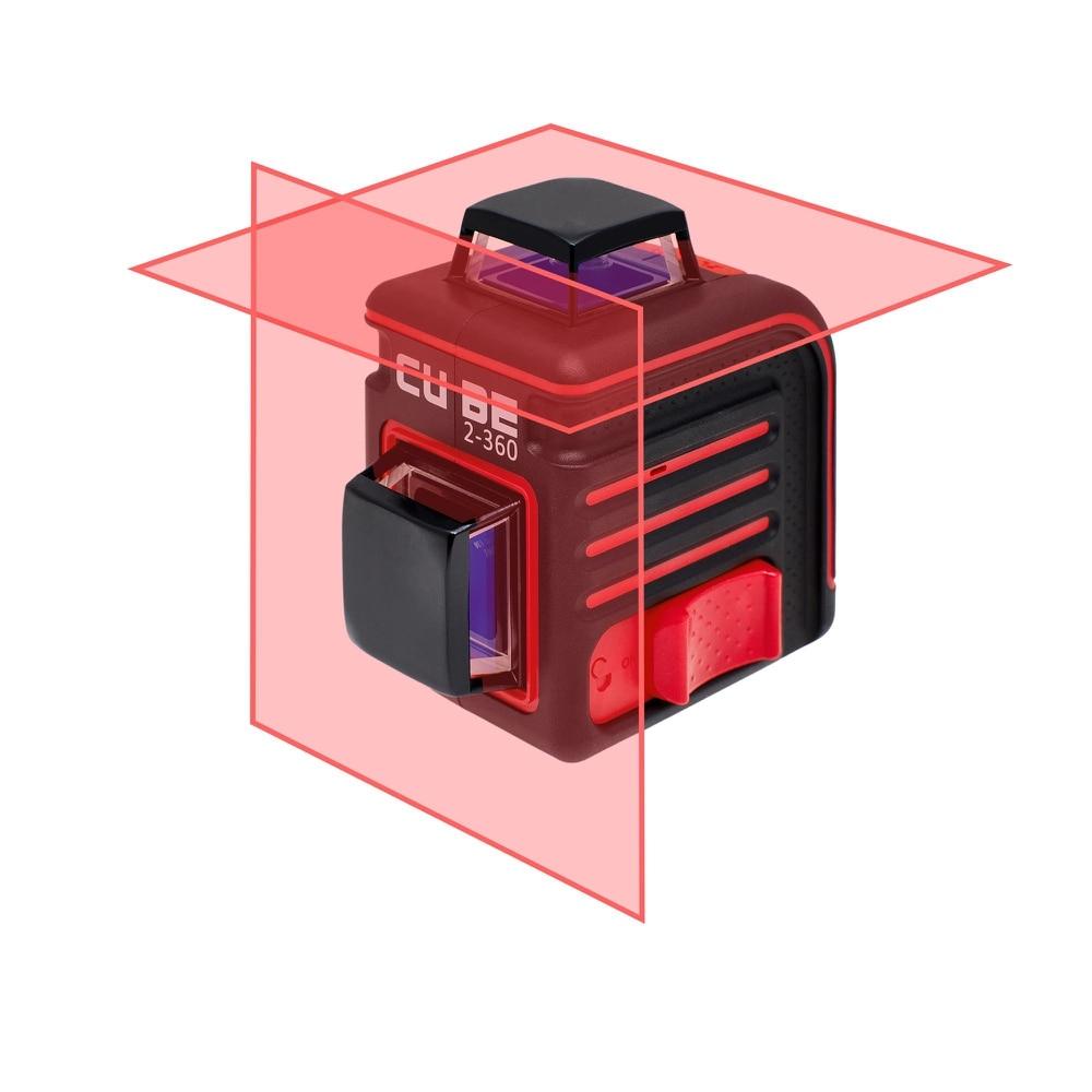 Уровень лазерный ADA Cube 2 360 Basic Edition  20(70)м ±3/10мм/м ±4° лазер2|Лазерные уровни|   | АлиЭкспресс