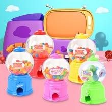 Мини милые скручивания конфеты машина диспенсер монета сберегающий банк хранения денег игрушки M0923