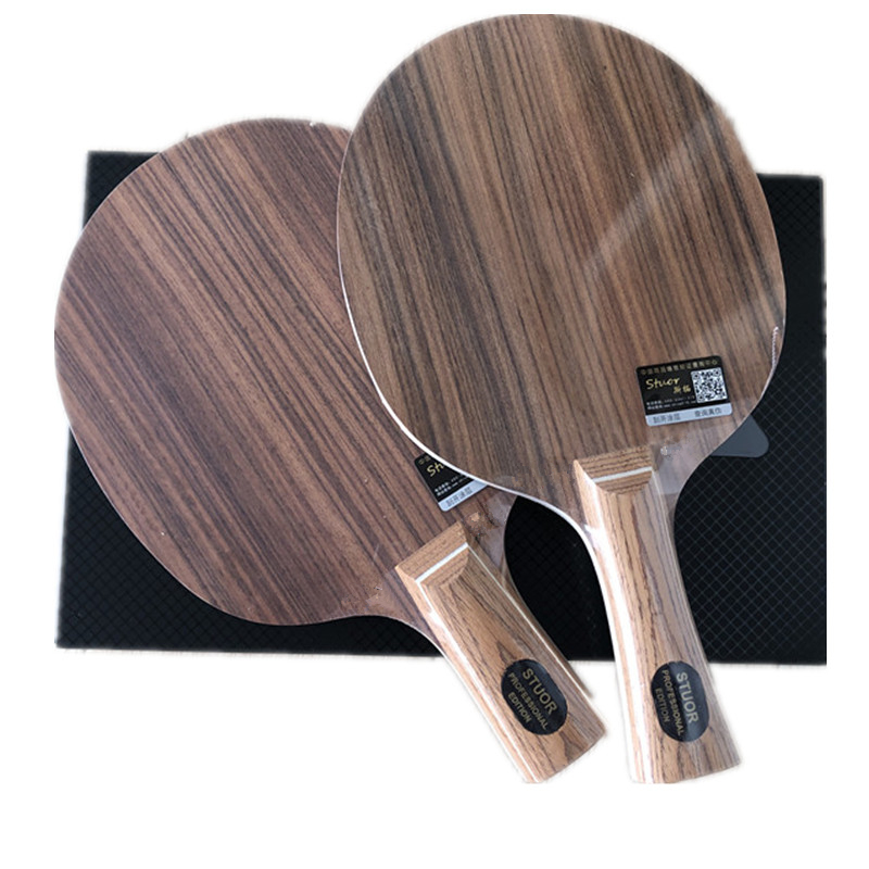 Stuor Rosewood 7-layer Table Tennis Rackets  Ping-pong Bottom Plate Pure Wood Table Tennis  Bottom Plate Professional