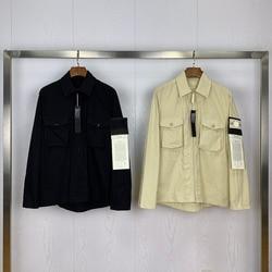 2020ss новая коллекция, знак компаса, прошитая Мужская и Женская куртка-карго, хип-хоп мужская повседневная куртка с отложным воротником и паль...