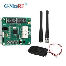 Livraison gratuite écran LCD test carte de démonstration/carte de développement pour Module de talkie walkie SA818 VHF
