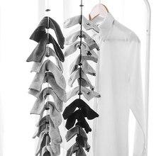 Funeasy жизнь Творческий дом носки затягивающей веревочки многофункциональная Чистая стиральная чулок для сушки носки стеллаж для выставки т...