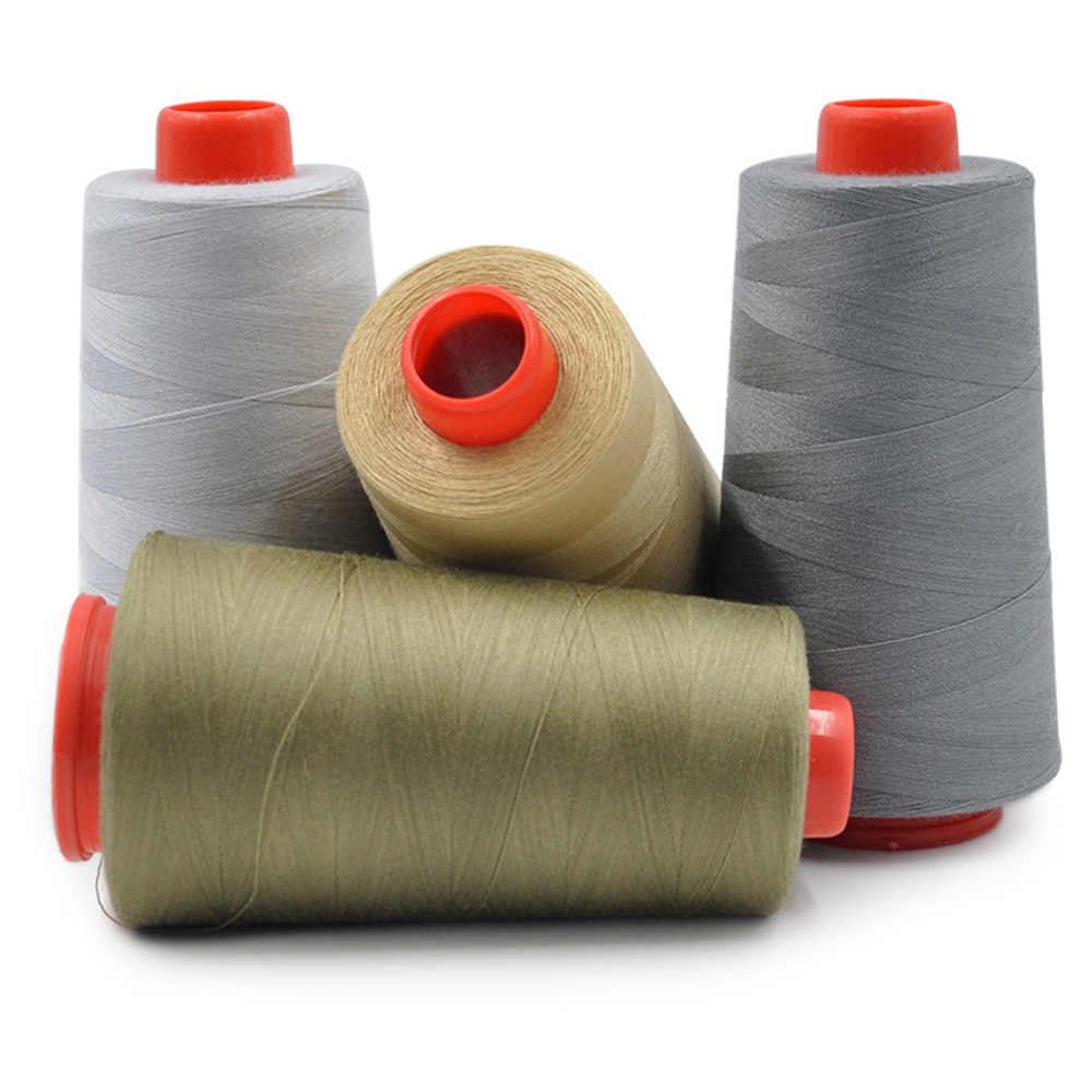 3000 ヤードのスレッドミシンレッド糸刺繍工業用オーバーロックミシンポリエステルキットセット Diy のアパレルファブリック