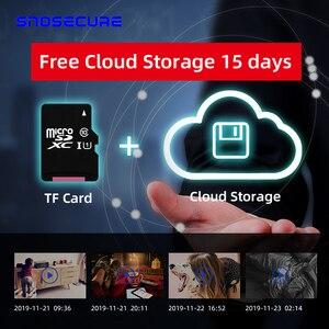 Image 5 - SNOSECURE MINI cámara IP de almacenamiento en la nube WIFI Smart Home 1080P, inalámbrica, visión nocturna, detección de movimiento, Audio bidireccional