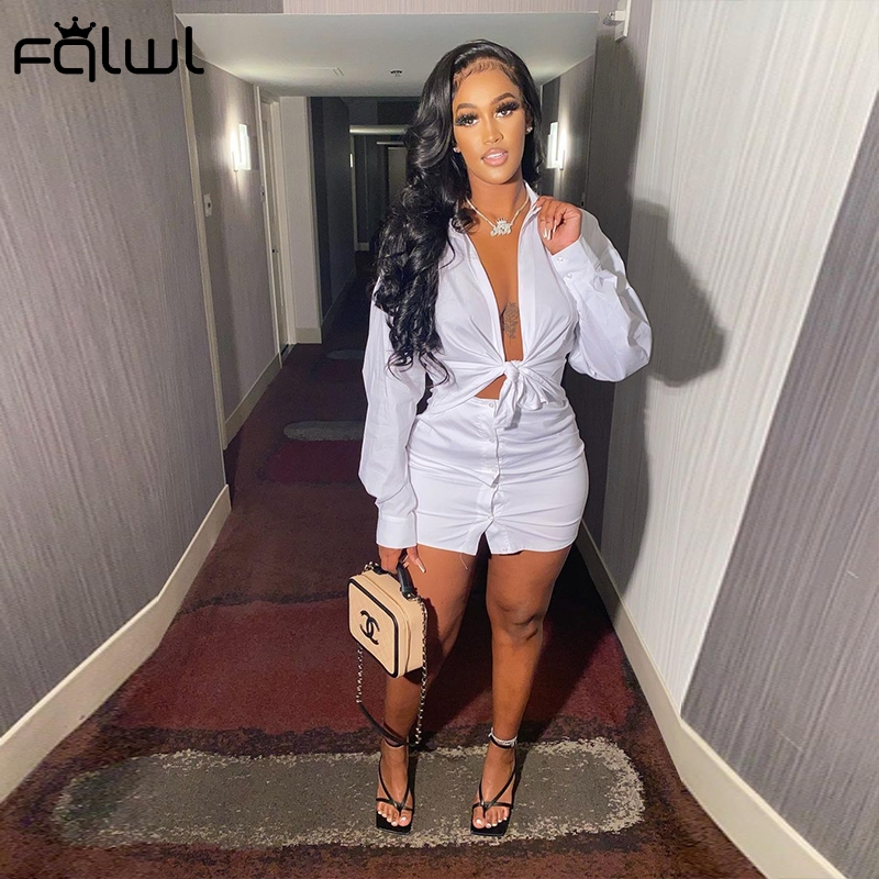 2 Piece Set Women Crop Top and Skirt Sexy Club Outfits Long Sleeve Bodycon - tops-tees, dresses