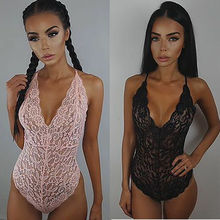 Womens Sexy Lace Lingerie Bodysuits Teddies Babydoll Underwe