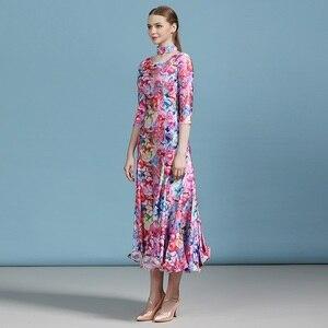 Image 3 - 安い社交ドレスラテンワルツダンスドレス女性スペインドレスフラメンコモダンダンスの衣装タンゴ衣装フォックストロットダンスドレスドレス