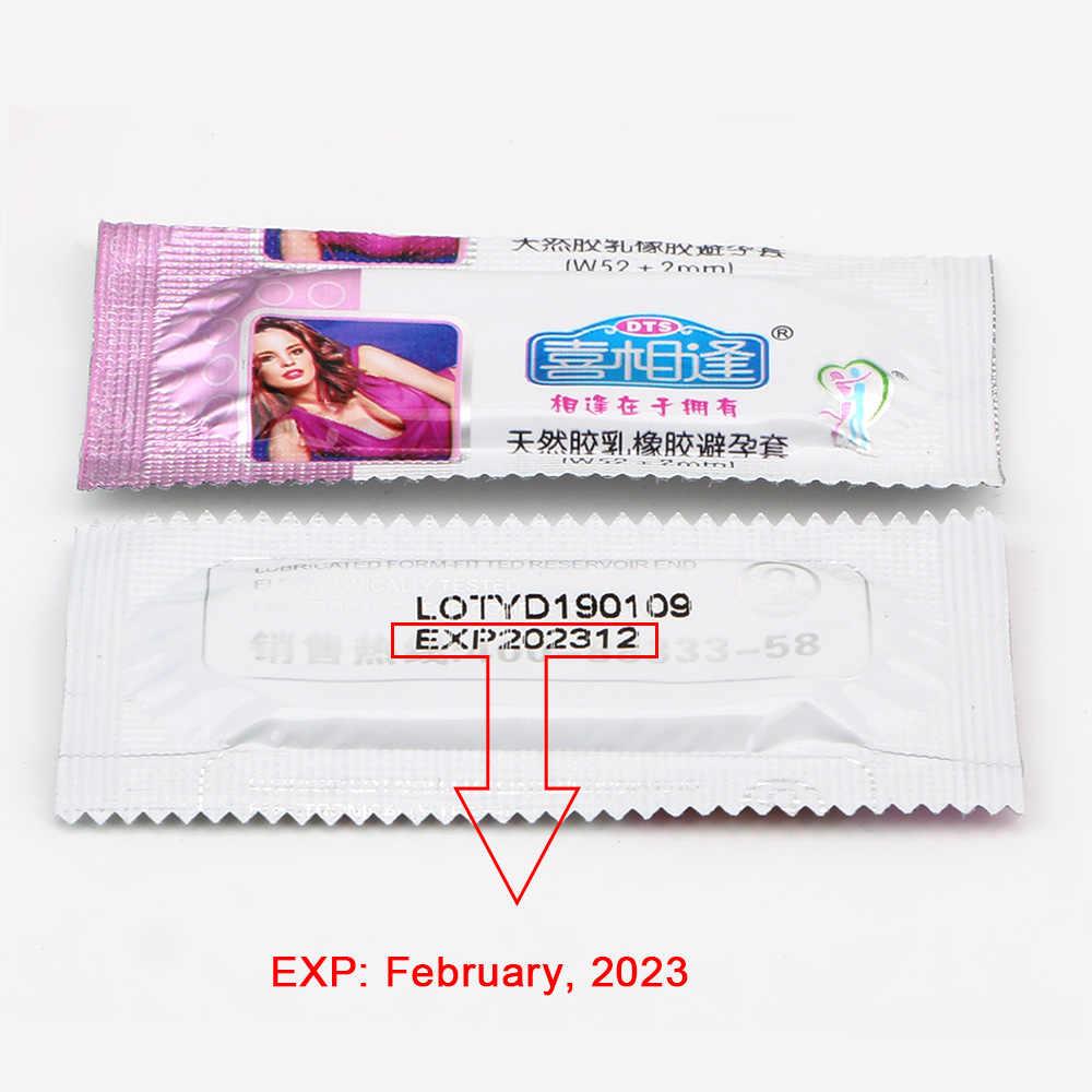 VATINE 10 unids/pack productos sexuales condones para hombres Látex Natural condones Ultra delgados productos eróticos herramientas sexuales para hombres