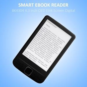 Image 3 - Dispositivo eletrônico da leitura do livro do papel de ereader do armazenamento 4.3x800 com luz dianteira capa do plutônio do leitor 4g/8g/16g de ebook de 600 polegadas