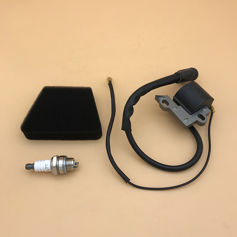 HUNDURE Ignition Coil Module Spark Plug Kit for Partner 350 351 <font><b>Mcculloch</b></font> Mac <font><b>335</b></font> 435 440 Gasoline <font><b>Chainsaw</b></font> Spare Parts image