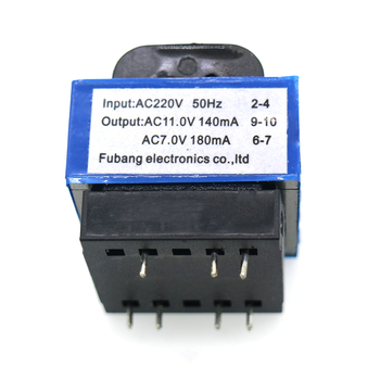 Wysokiej jakości nowy kuchenka mikrofalowa transformator AC 220V do 11V 7V 140mA 180mA 7-pin części piekarnika mikrofalowego tanie i dobre opinie Części kuchenka mikrofalowa AC 220V to 11V 7V 140mA 180mA