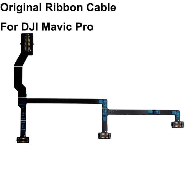 ของแท้ DJI Mavic Pro/Platinum ยืดหยุ่น PCB Gimbal Ribbon FLAT CABLE สำหรับกล้อง DJI Mavic Pro Gimbal
