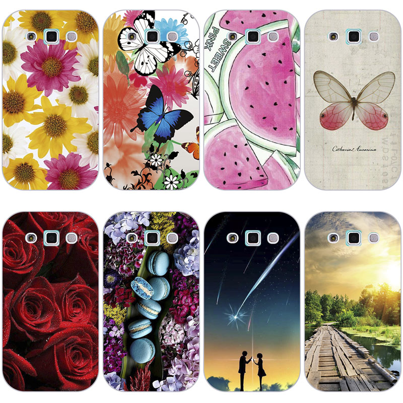 Case For <font><b>Samsung</b></font> <font><b>Galaxy</b></font> <font><b>Win</b></font> <font><b>i8550</b></font> Duos I8552 8552 GT-i8552 i8558 Back Cover Flower Plants Hard Plastic Printed Animal Phone Case image