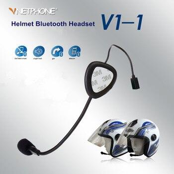 Беспроводная гарнитура для мотоциклетного шлема, наушники с Bluetooth 3,0, для мотоцикла, с поддержкой Bluetooth