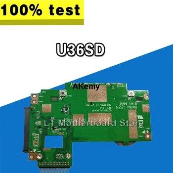 Hard Disk Interface Card Original For Asus U36 U36S U44S U36SG U36SD U36J U36JC HDD Small Board Tested Well Motherboard