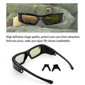 Image 3 - GL410 3D משקפיים עבור מקרן מלא HD פעיל DLP קישור משקפיים עבור Optama Acer BenQ ViewSonic חד Dell DLP קישור מקרנים
