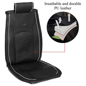 Image 3 - Car Seat Cover PU Leather Cushion Protector SUV for lada VESTA SAMARA for ford FOCUS for tesla Modle 3 Modle X