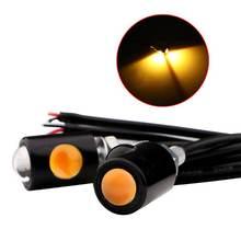1 пара Универсальный мотоциклетный светодиодный мини светильник