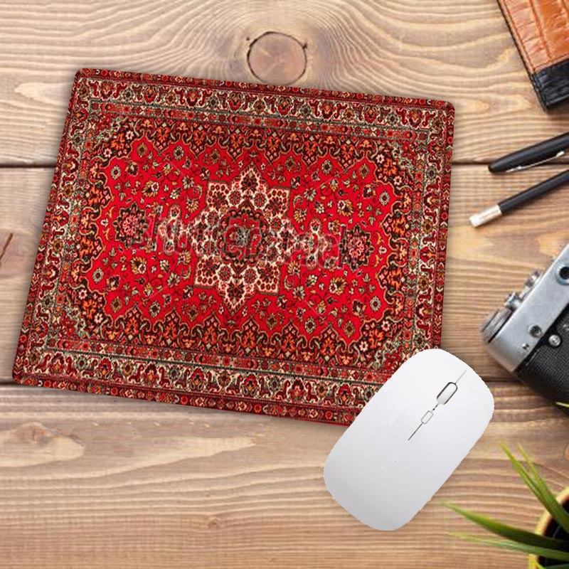 Image 2 - Big Promotion Waterproof Persian carpet rubber non slip laptop gaming Small mouse pad for CSGO dota LOL 220*180*2mm-in Mouse Pads from Computer & Office