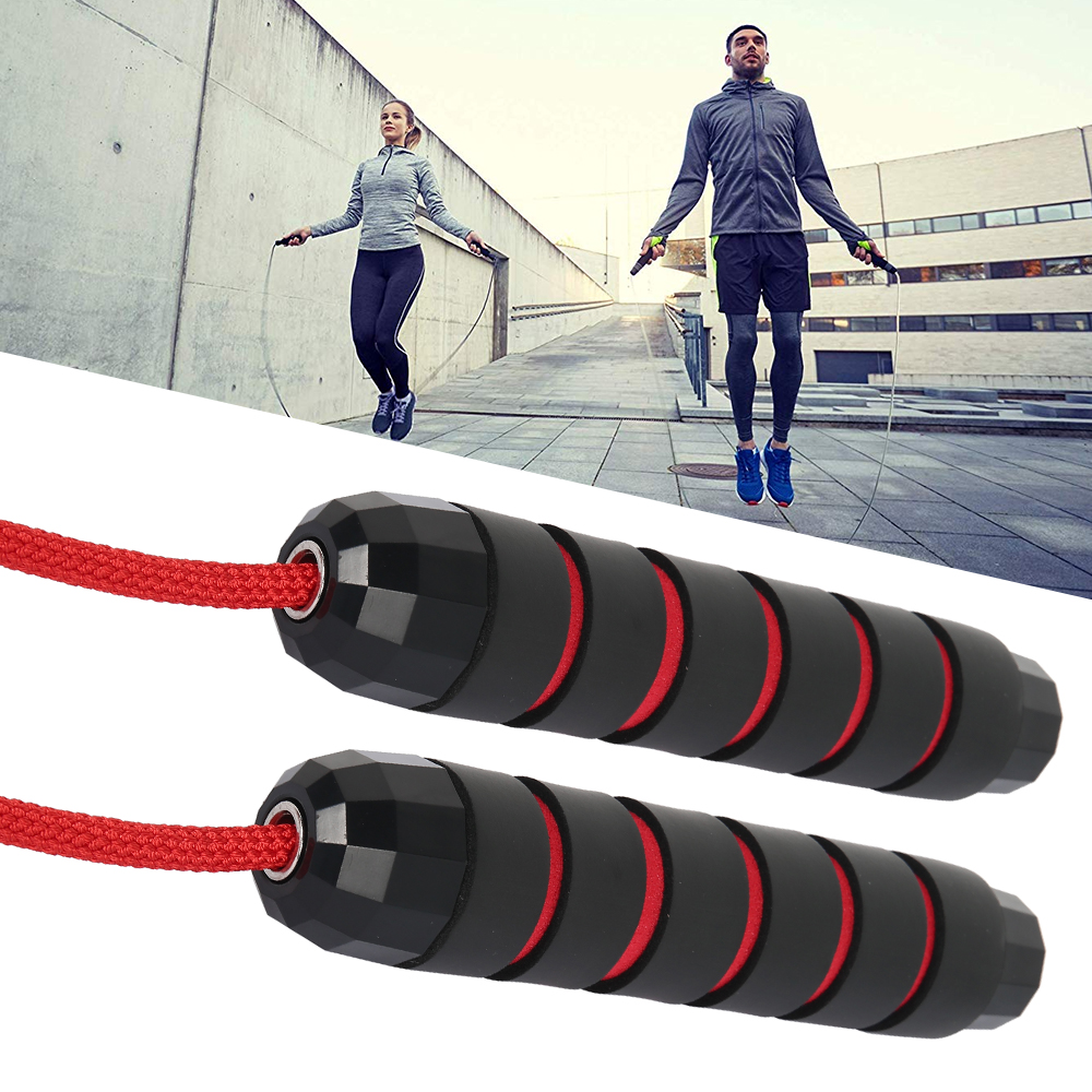 Girls Loss Weight Bering Skipping Rope Jumping Speed Fitness Yoga Gym Exercise