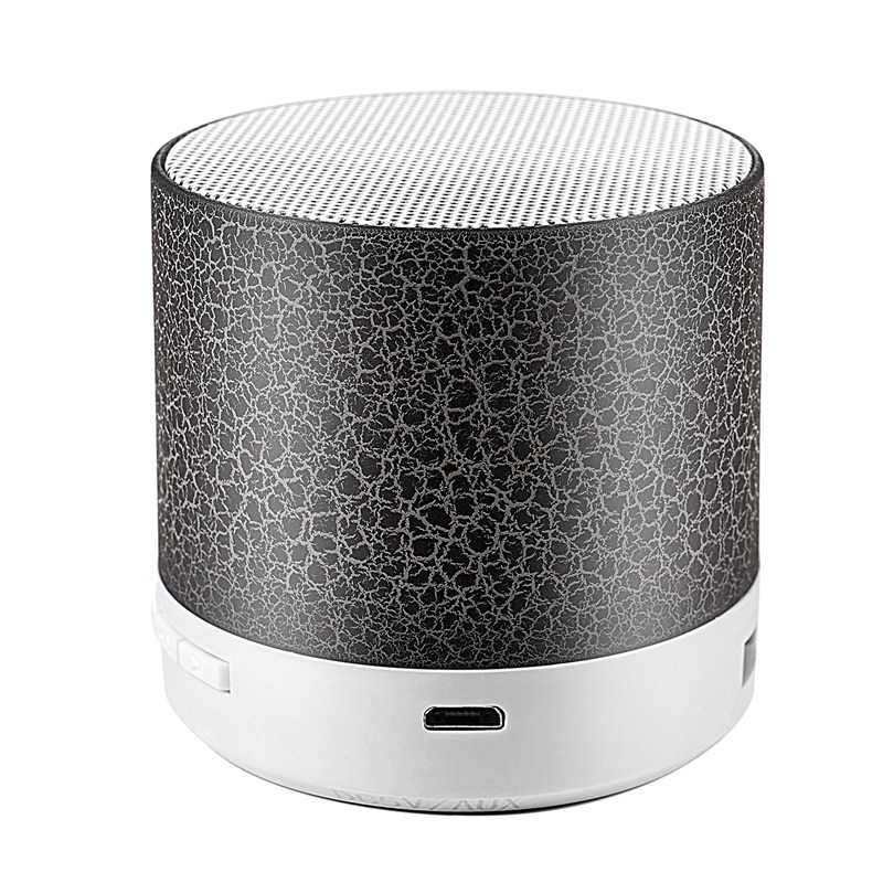 A9 Bluetooth Speaker Mini Nirkabel Loudspeaker Crack LED Tf Usb Subwoofer Bluetooth Speaker Mp3 Stereo Audio Musik Player