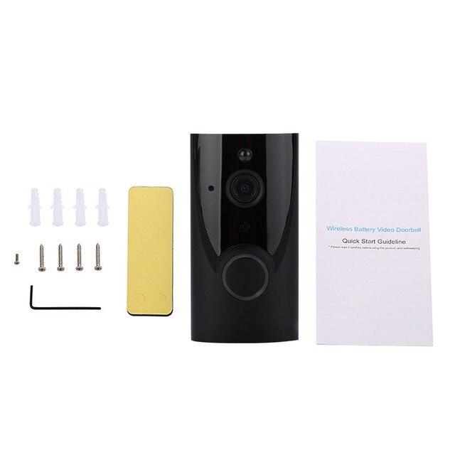 Strona główna Wifi inteligentna bezprzewodowa wodoodporny dzwonek do drzwi zakres Us Eu Uk Au wtyczka dom inteligentny dzwonek do drzwi wideodomofon Cloud Storage