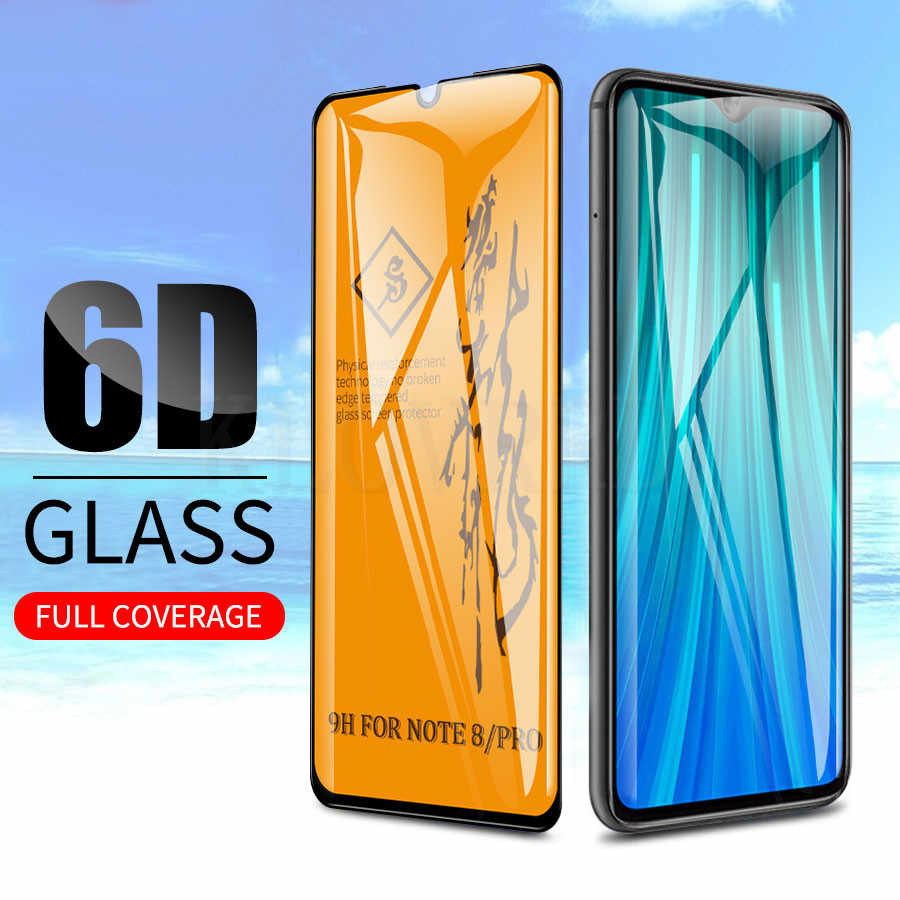 6D Full Glue Tempered Glass for Xiaomi Mi A3 9T Pro Screen Protector 9H on Phone Protective Glass for Redmi Note 8 Pro 7 K20 Pro