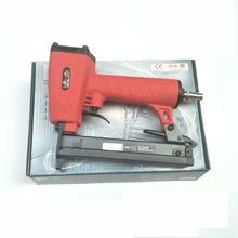 Tian Gong 425 K Nail Gun Pneumatic Nail Gun Woodworking Iron Rattan Special Aluminum Alloy U-shaped Furniture Air Stapler Tools стоимость